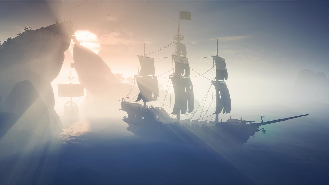 Shrouded Spoils sets sail