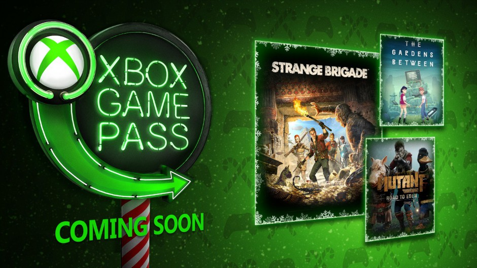 Xbox Game pass in December
