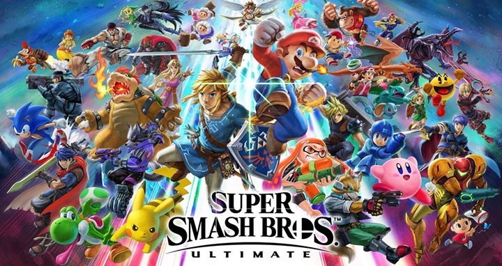 Smash Bros Ultimate has launched