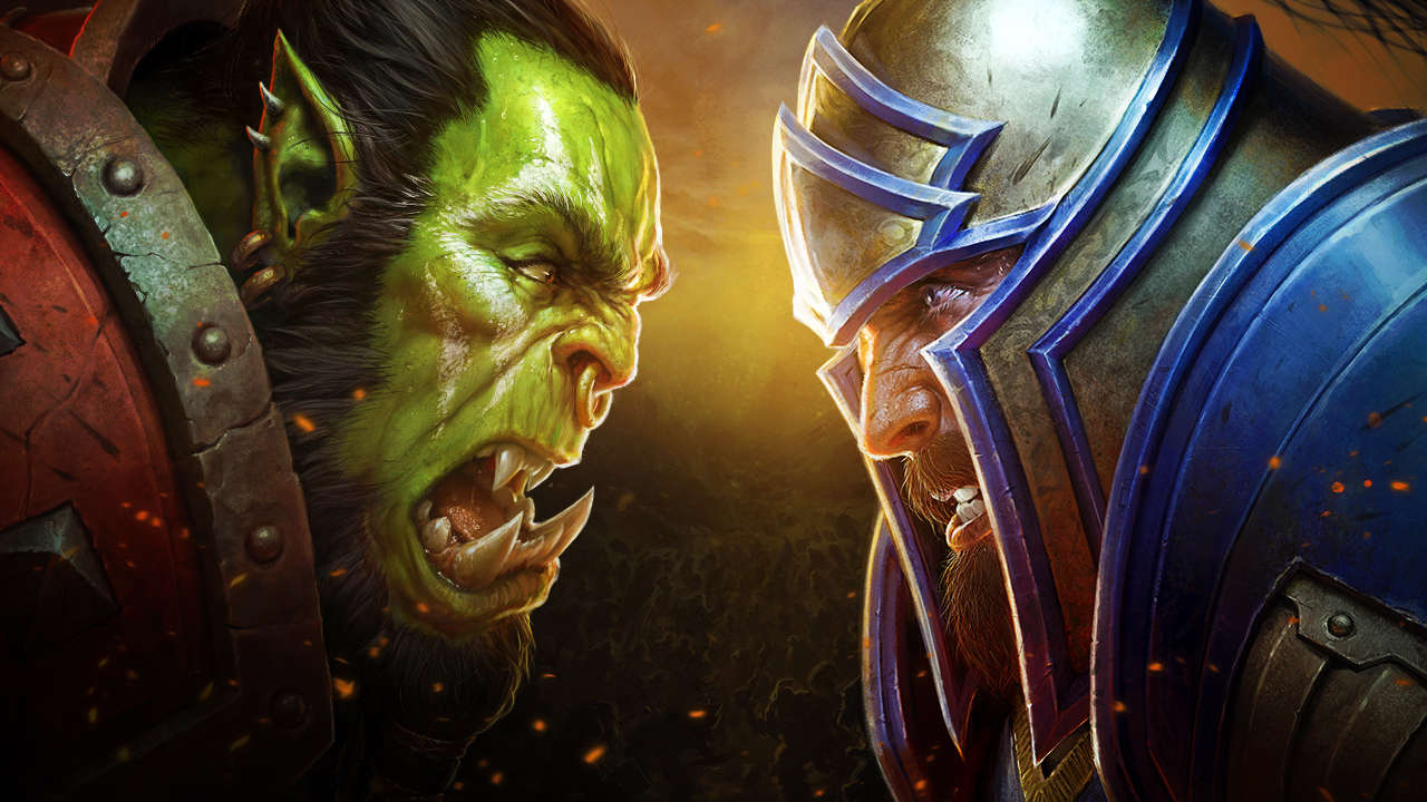 World of Warcraft Horde versus Alliance