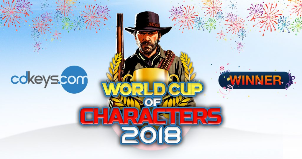World Cup of Characters Champion Arthur Morgan from RDR2