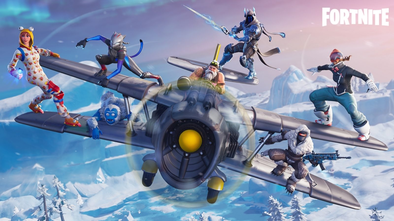 fortnite season 7 frosty flight