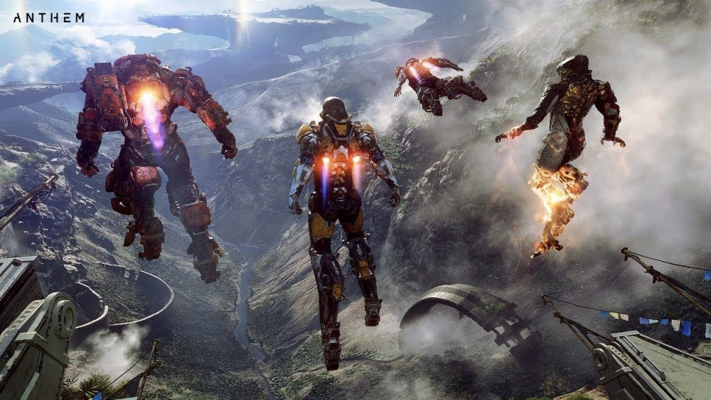 Anthem characters in New Games in February 2019