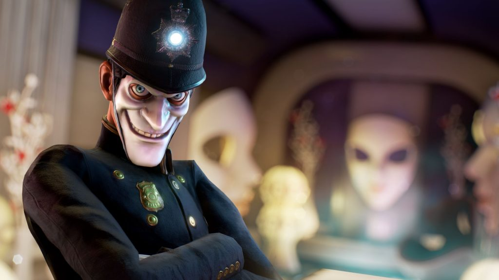 We Happy Few Policeman image in Xbox Game Pass games