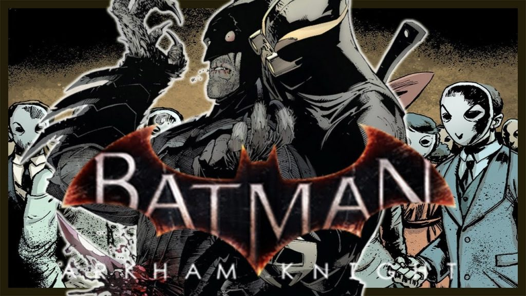 Batman image in gaming rumours