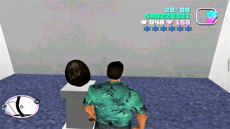 GTA: Vice City in Top 10 Easter Eggs