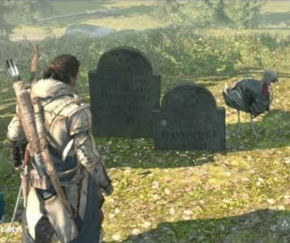 Assassin's Creed 3 in Top 10 Easter Eggs