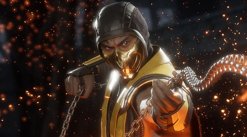mortal kombat 11 scorpion in Upcoming April Games
