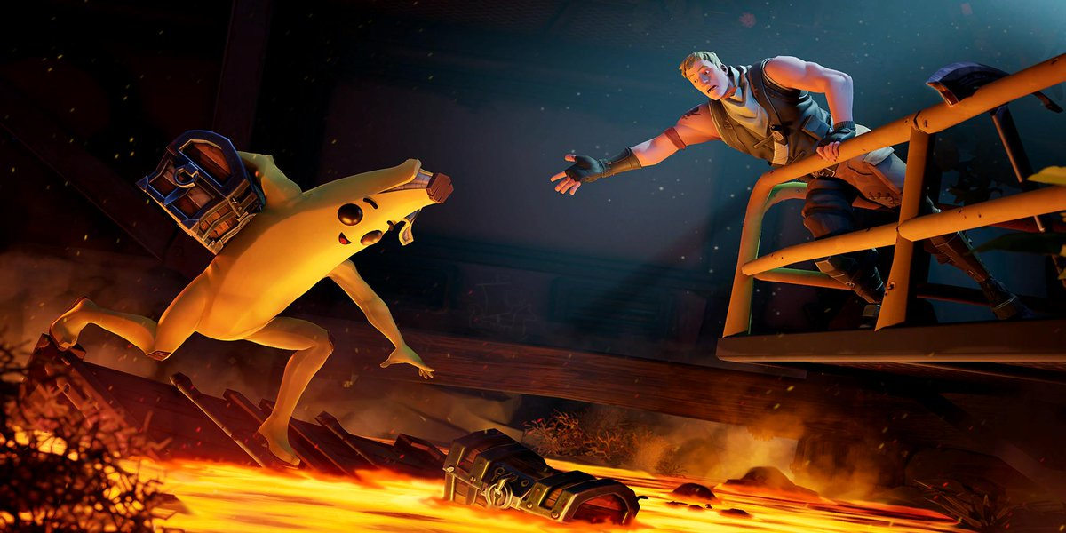 Fortnite season 8 week 9 loading screen