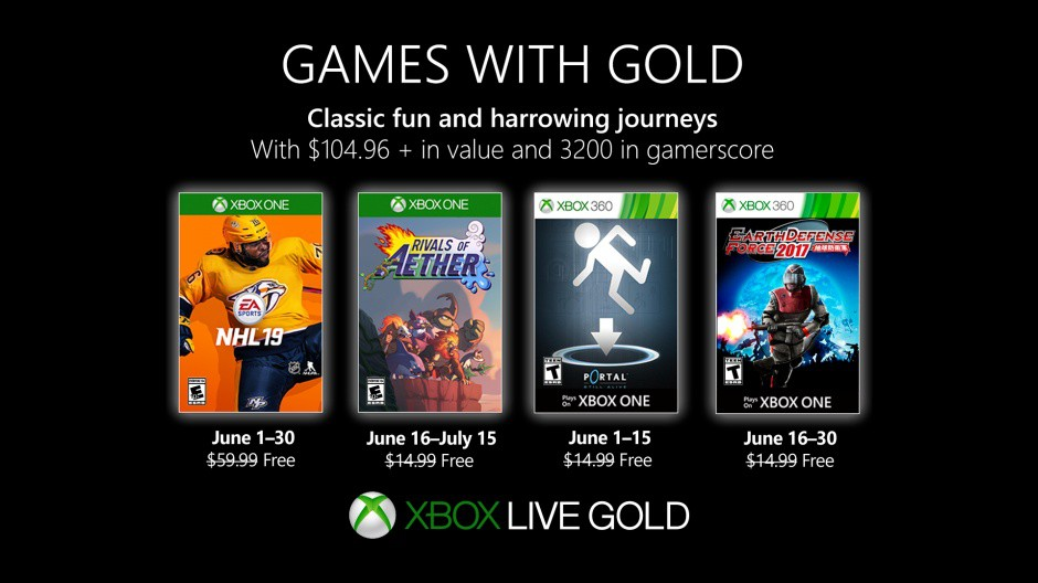 Games with Gold June 2019 free games xbox one xbox live