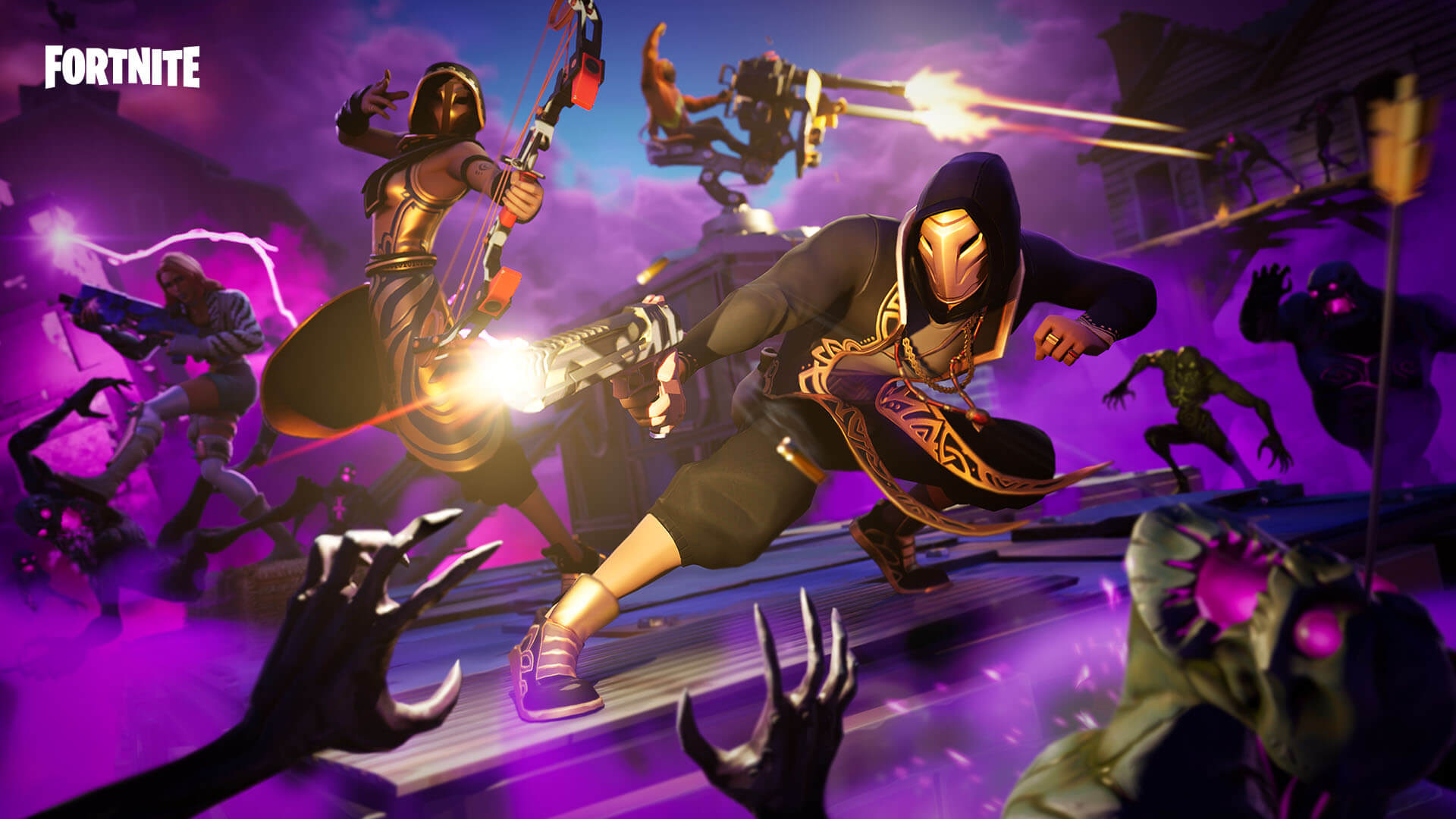 horde rush fortnite limited time mode season 9