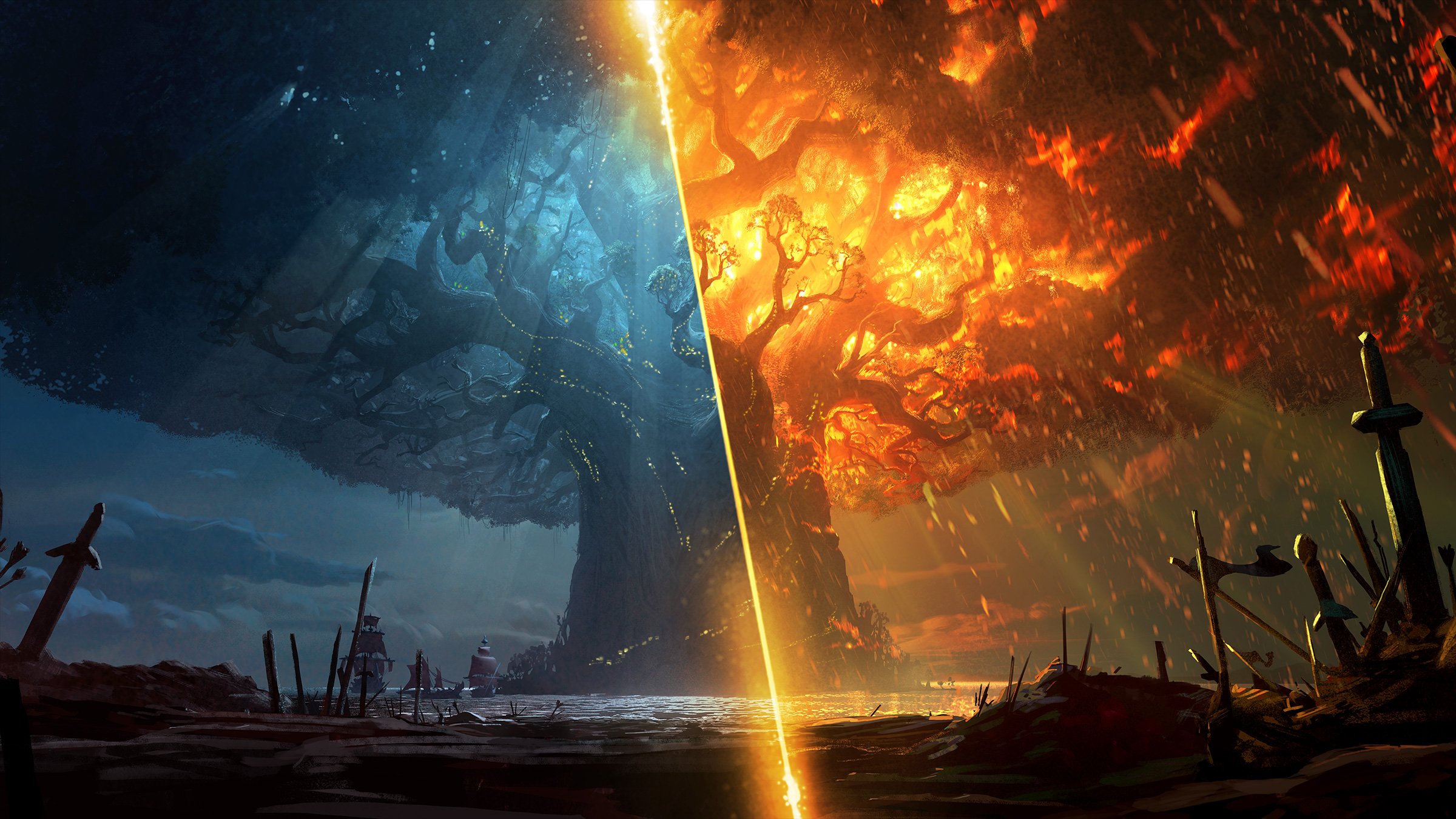 wow battle for azeroth tree