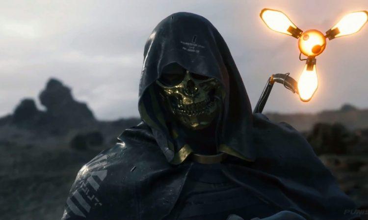 death stranding skull mask, gamescom 2019