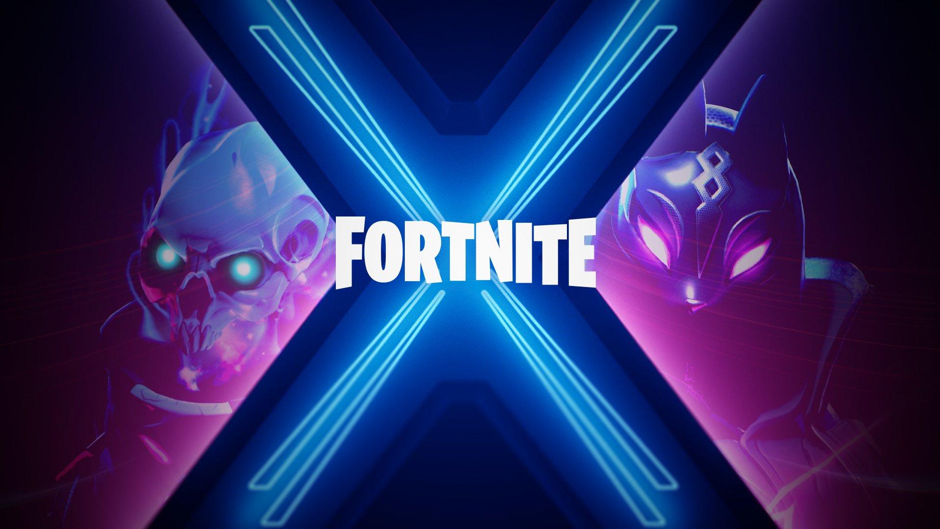 fortnite season 10 X