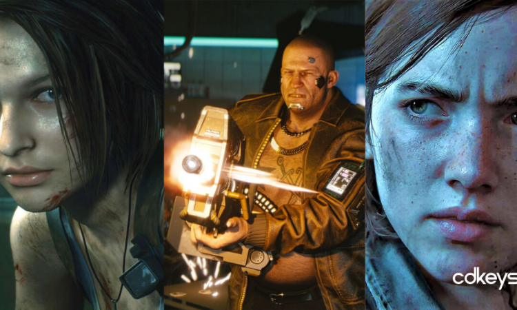 Games Confirmed for 2020, Resident Evil 3, Cyberpunk 2077, The Last of Us: Part 2