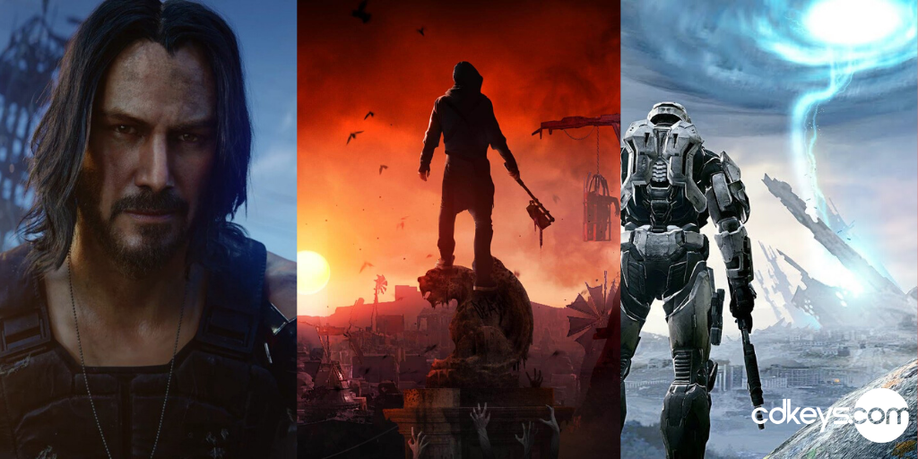 Anticipated Games of 2020, Cyberpunk 2077, Dying Light 2, Halo Infinite