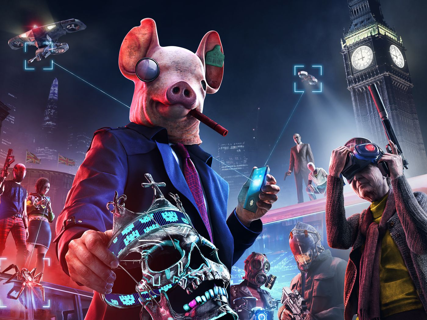 Watch Dogs Legion Preview best new games October 2020