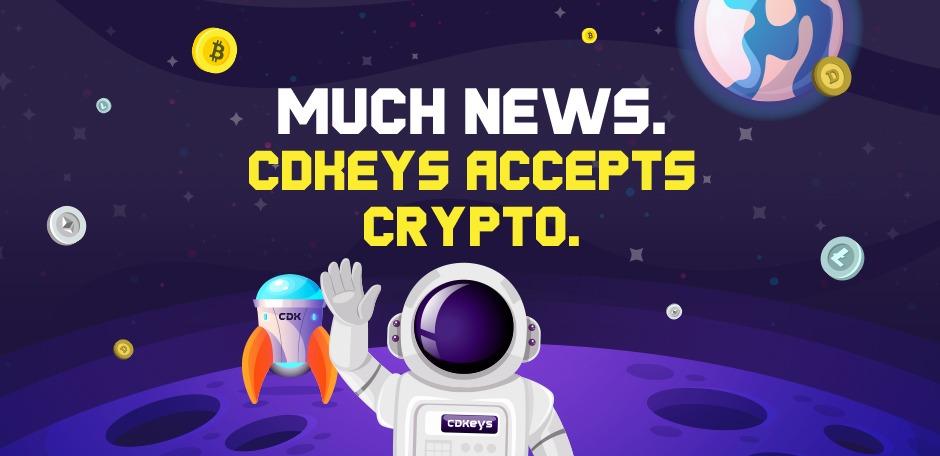 Crypto CDKeys, Bitcoin, Doge